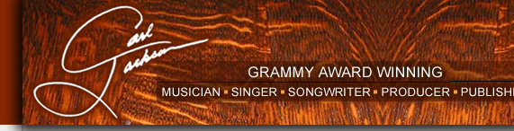 Grammy Award Winning - Musician, Singer, Songwriter, Producer, Publisher